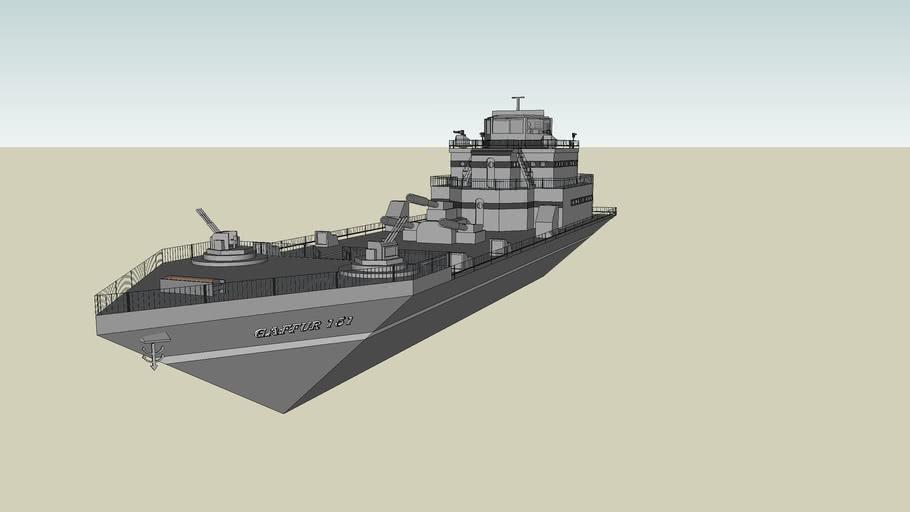 GAFFUR 151 savaş gemisi
