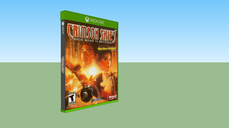 Crimson Skies: High Road to Revenge Xbox compatible with Xbox One game case