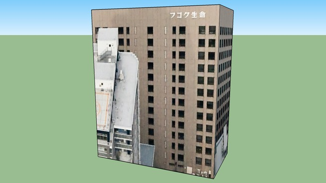 Building in Sapporo City, Hokkaidō Prefecture, Japan
