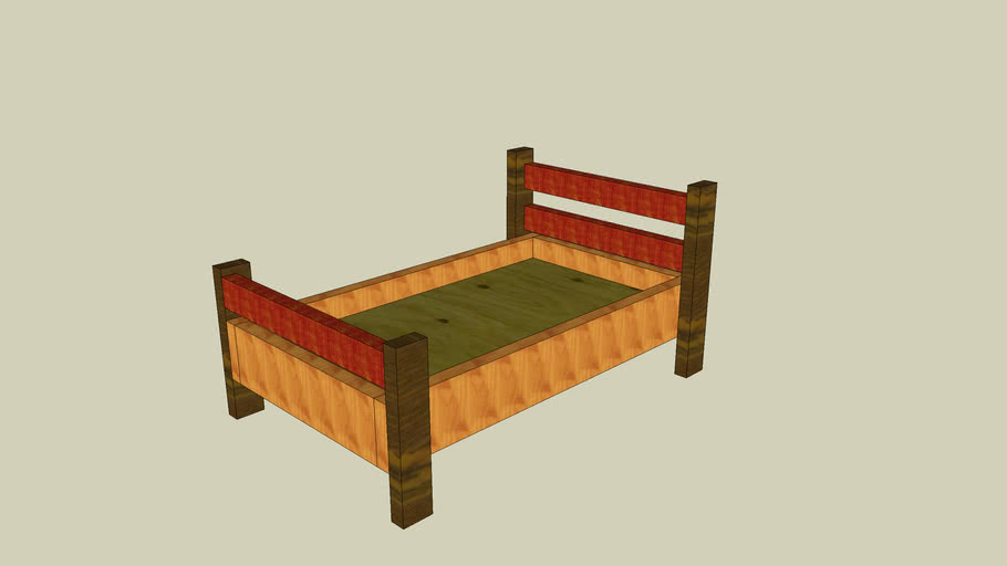 Toddlers bed - plans
