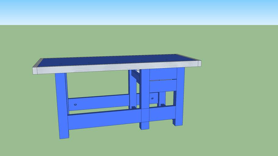Ecco work shop workbench