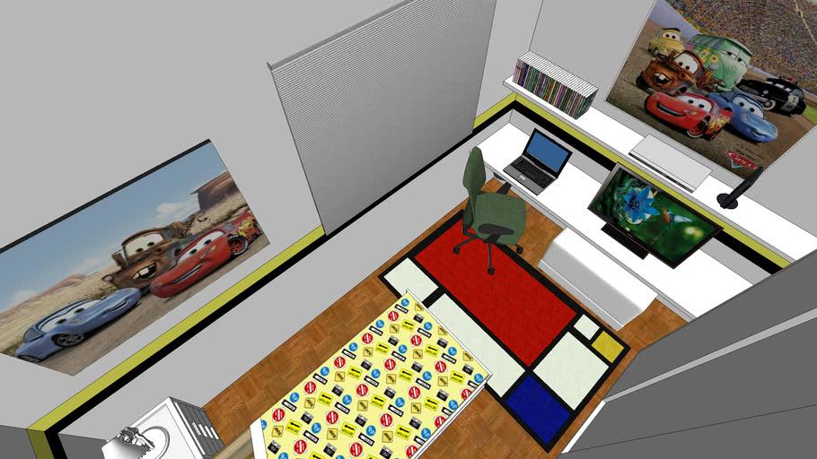 maercelleorkut, kid room, boy room, quarto menino