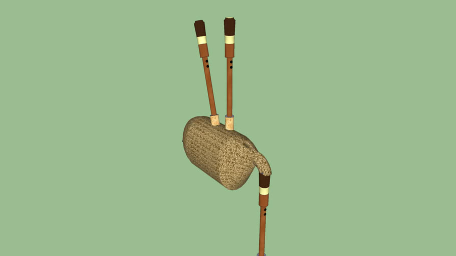 Old bagpipe
