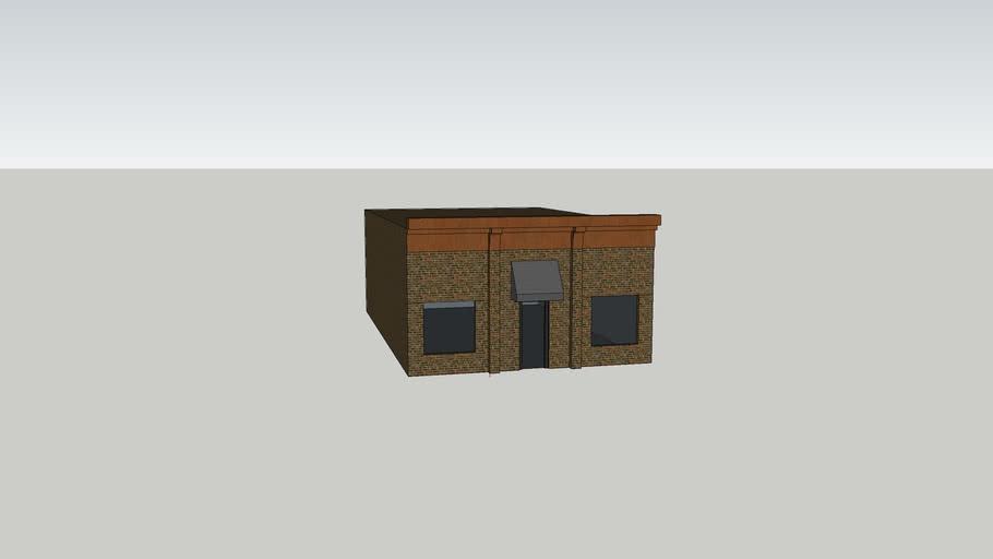 Mansfield Brick Building