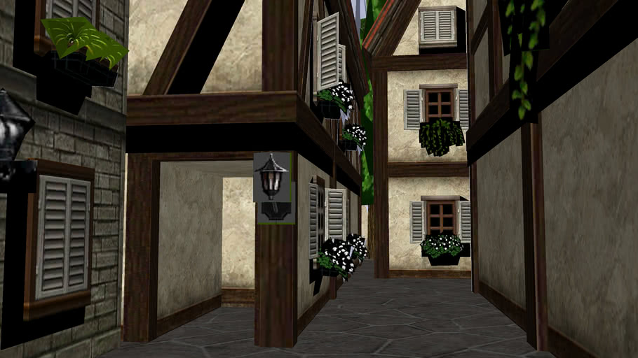 Back Alley (Ocarina of Time 3D)