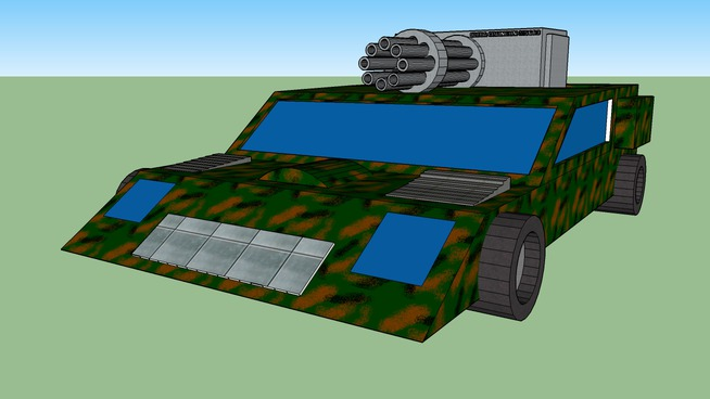 M23A5 heavy fighting land vehicle