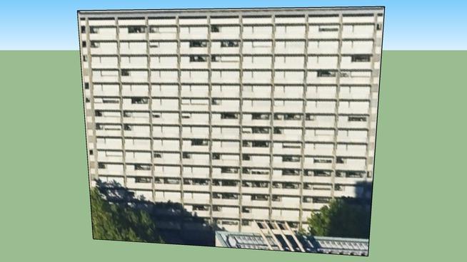 Building in Stuttgart, Germany