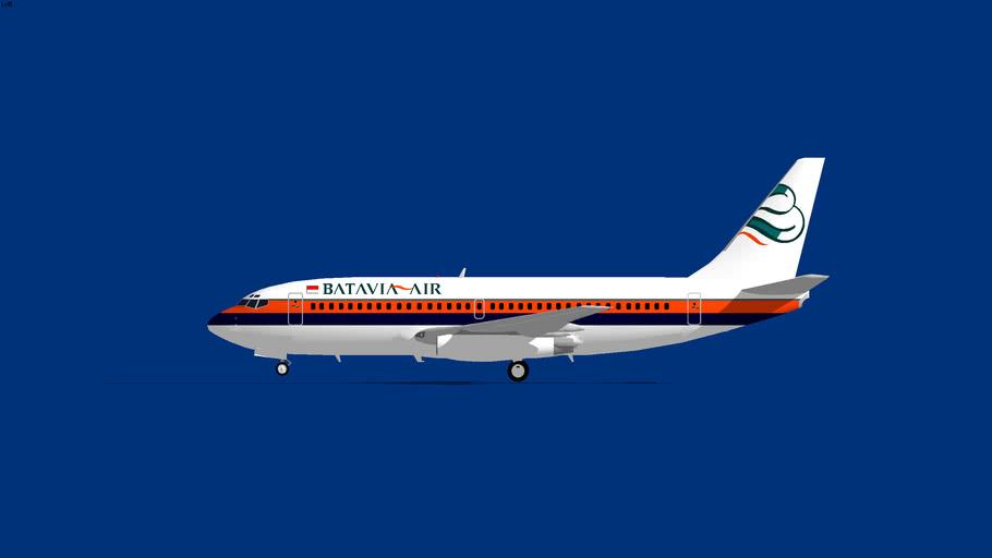 Batavia Air Boeing 737-200 1