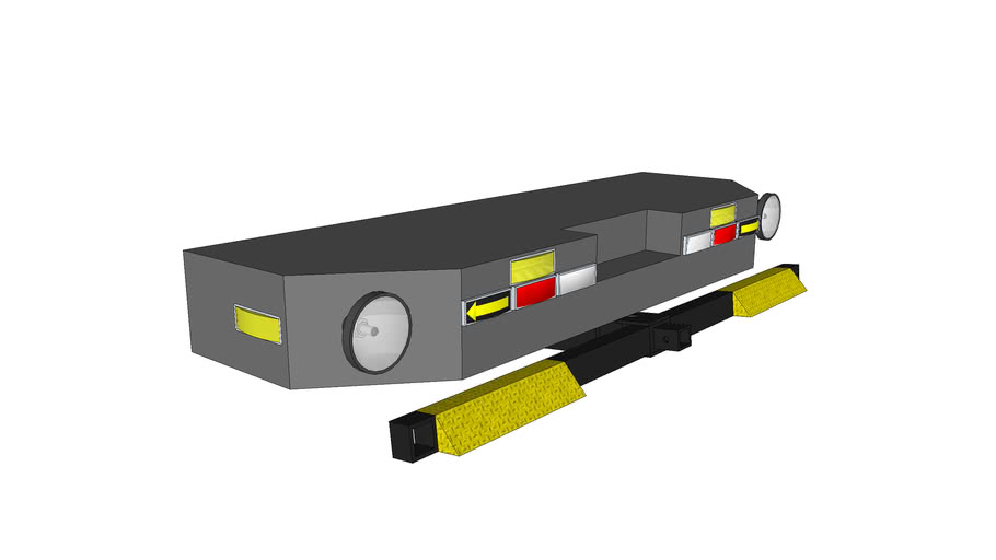 repo hitch for a repo truck