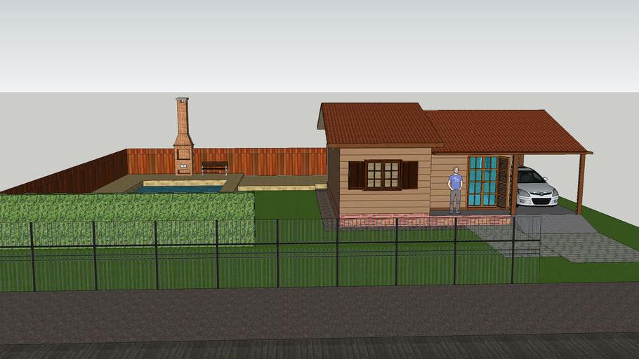 casa 7x8 madeira