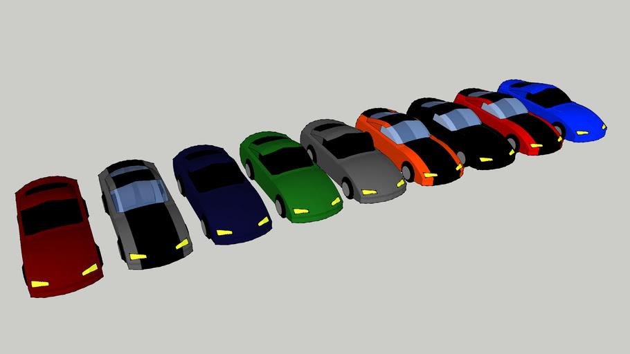 Sketchup Cars