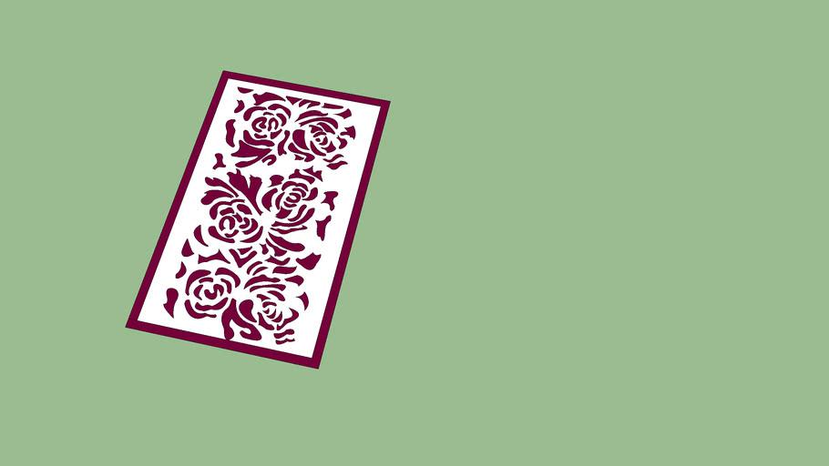 motif  pattern fleur flam