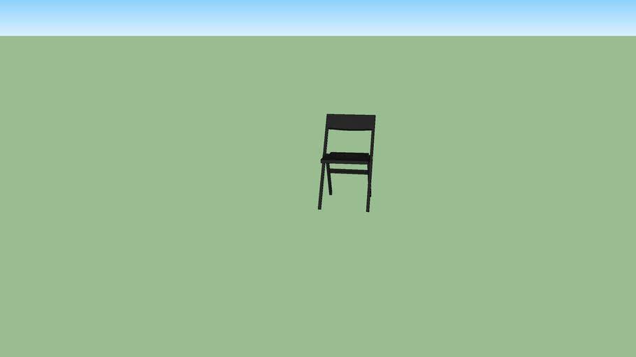 silla negra 515