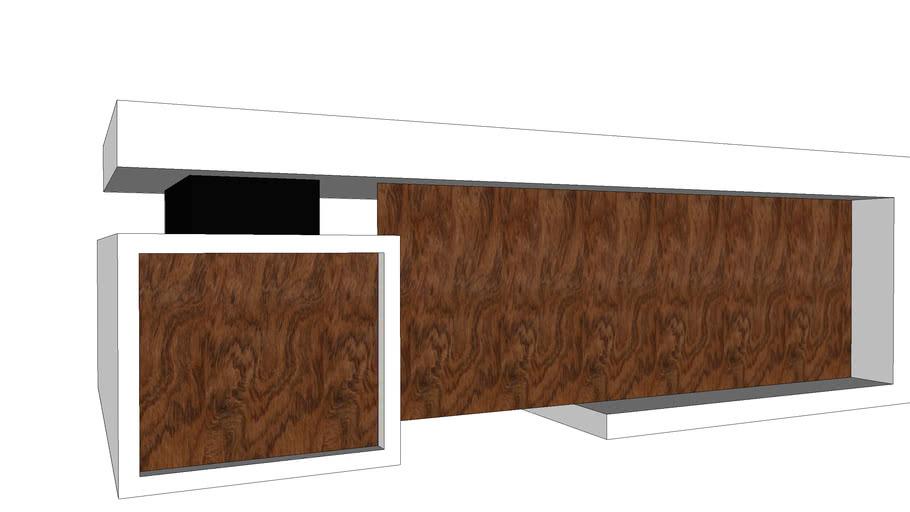 Modern Office Table Design 3d Warehouse