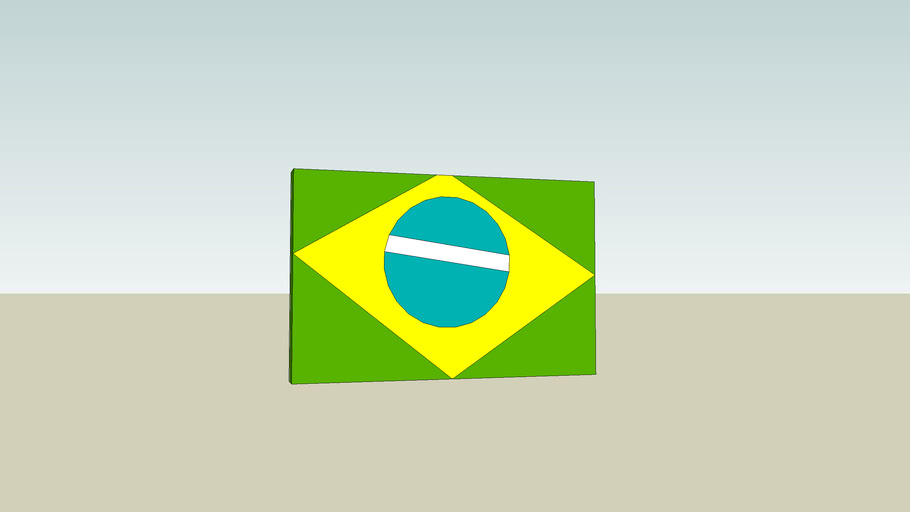 Henrique's brazil flag