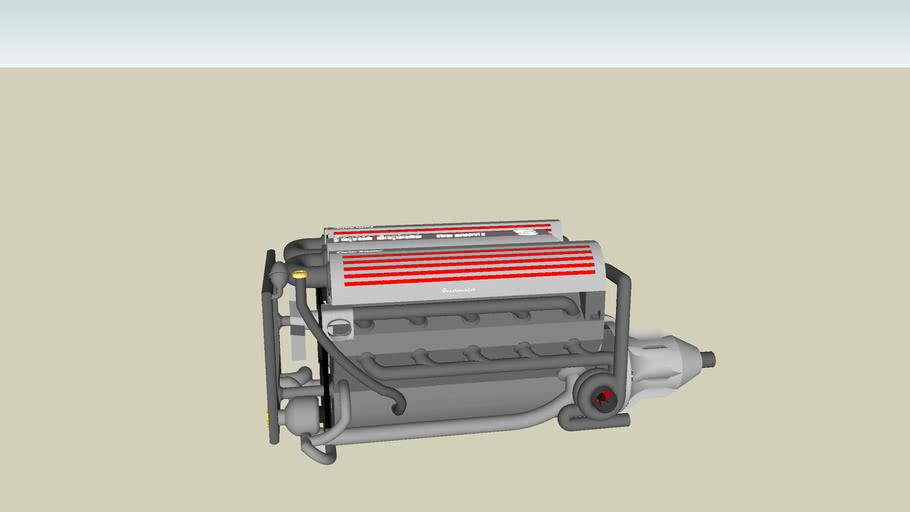 Twin turbo V10