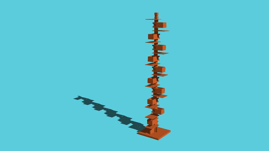 Frank Lloyd Wright Taliesin 2 floor lamp - OFF - Simplified