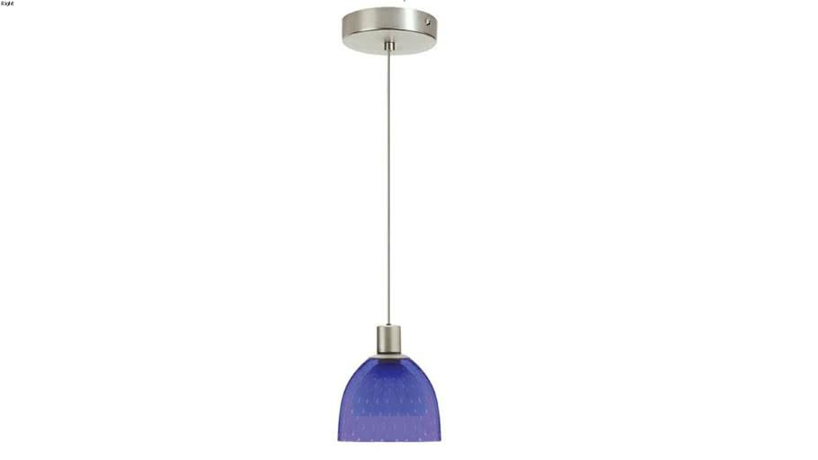 Suspendue simple DLSL701 BS-SC (bleu) - 2D model