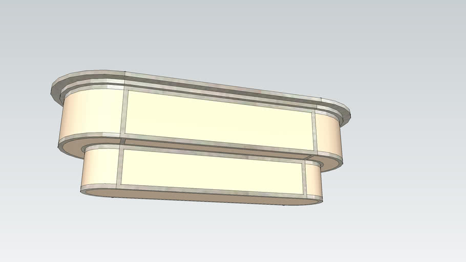 Small Oval Fixture