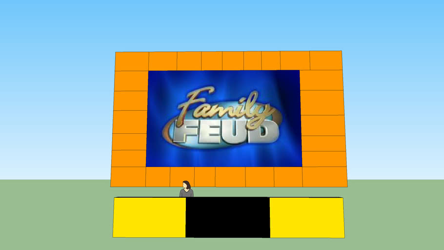 Family Feud Sets: Table