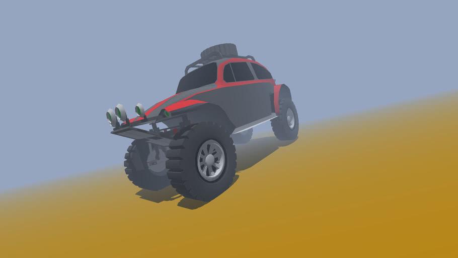 SketchyPhysics VW Bug