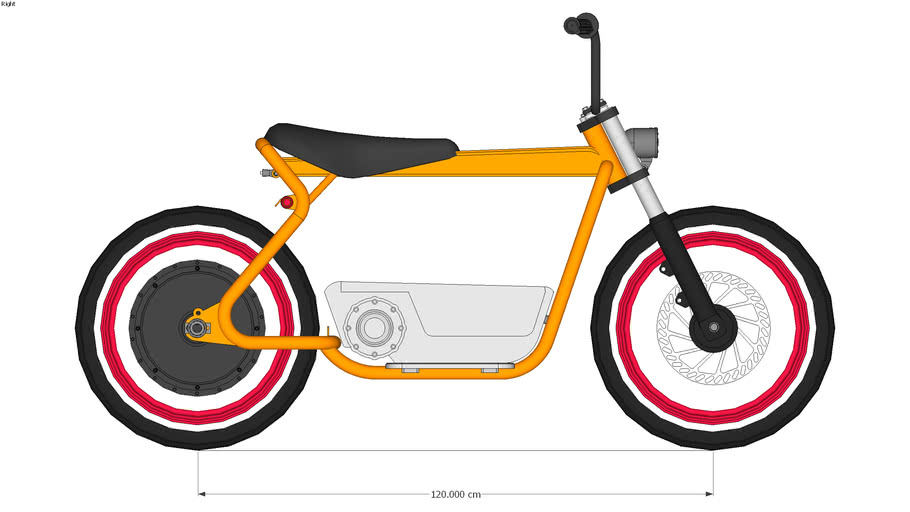 Harley Moped - Electric Scooter Clone
