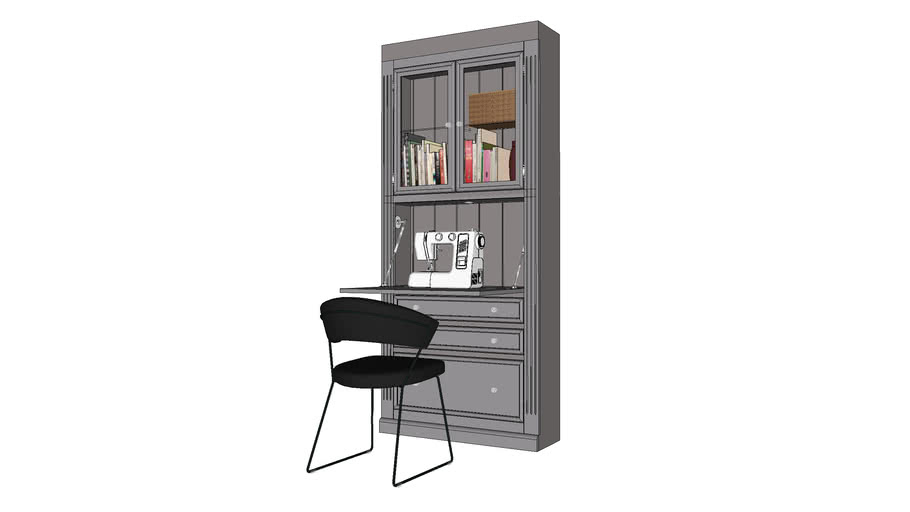 Office Furniture - Secretary Desk