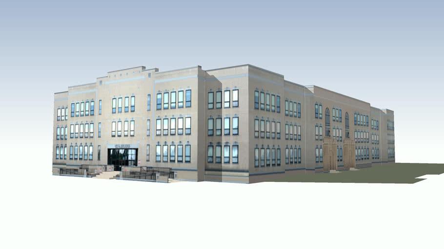Lowell High School - 1922 addition