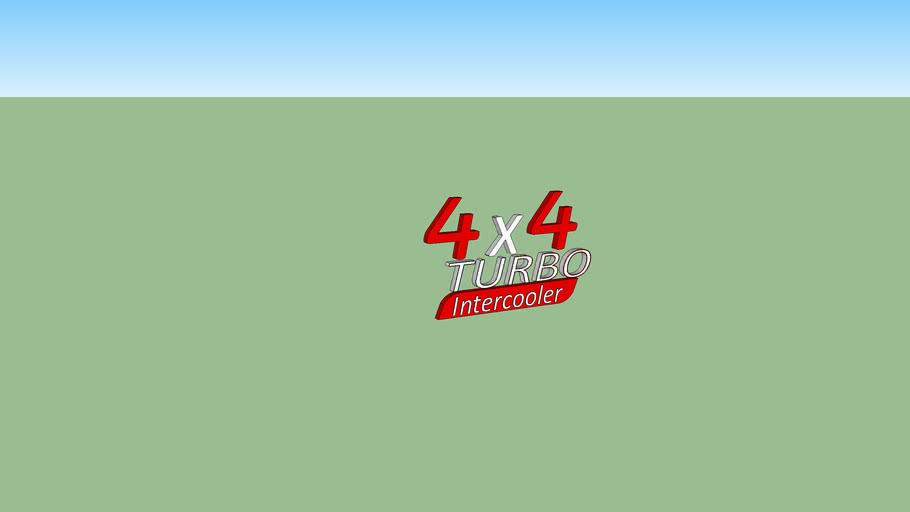 4x4 TURBO Intercooler