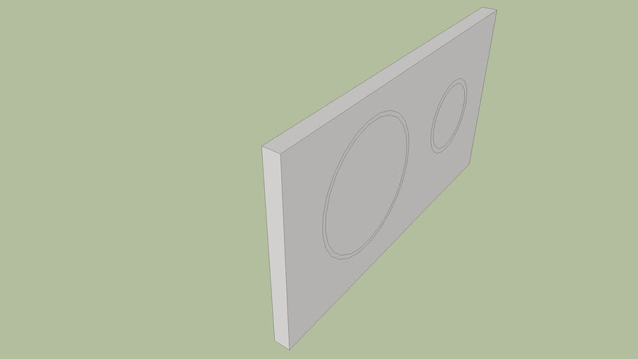 loop flashing button - plasson