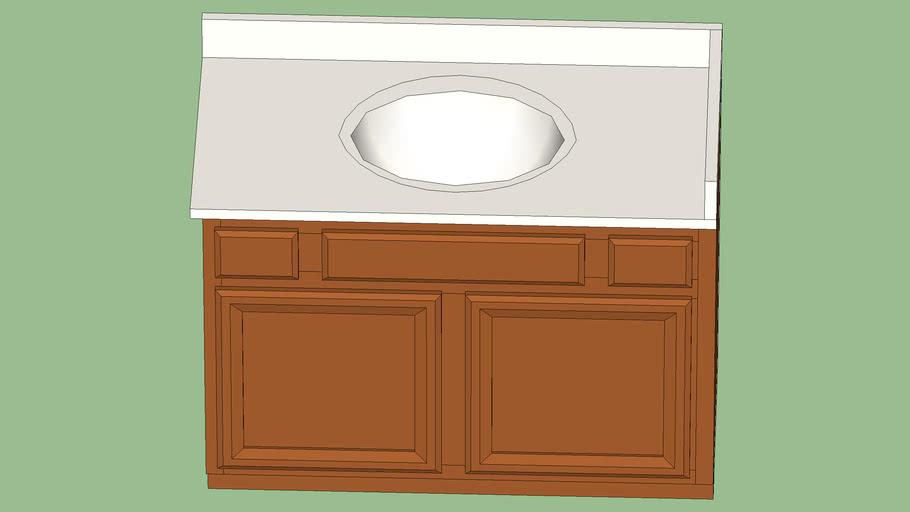 44 Bathroom Vanity 3d Warehouse, 44 Bathroom Vanity Cabinet