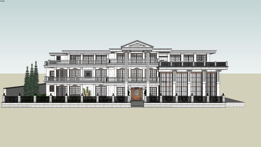 privet classic villa design