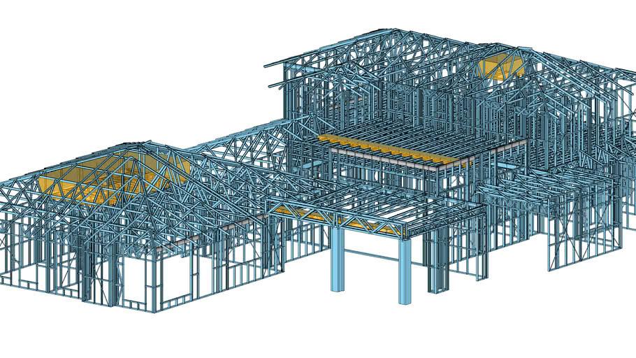 ENDUROFRAME 2 storey house model
