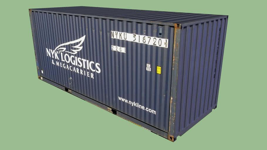 NYK LOGISTICS Container 20'