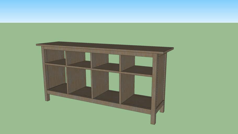 IKEA HEMNES sofa table