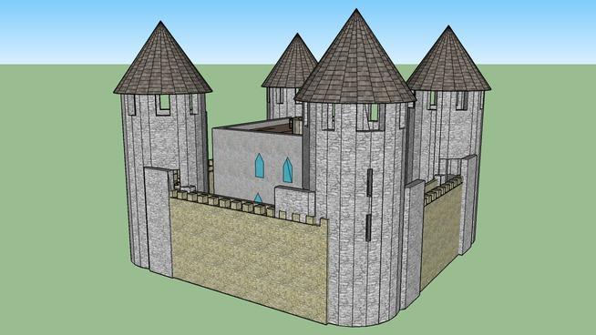 Castle mansion by Ricky_Smith