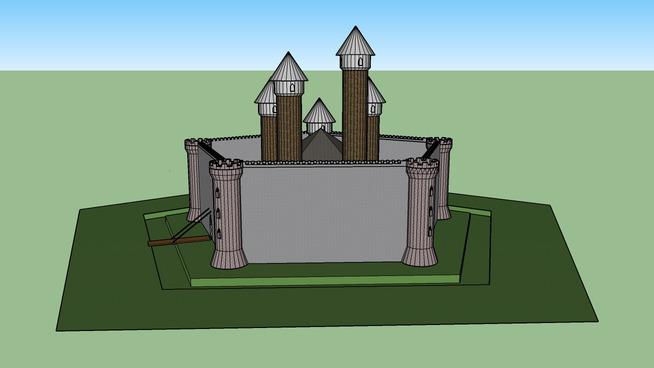 castle penthagonal