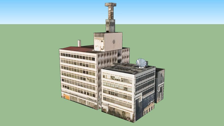 旧・大阪市消防局本庁舎の建物