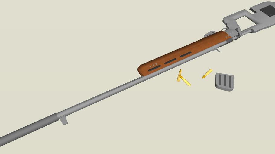 7,54 mm Tactical Sniper Rifle
