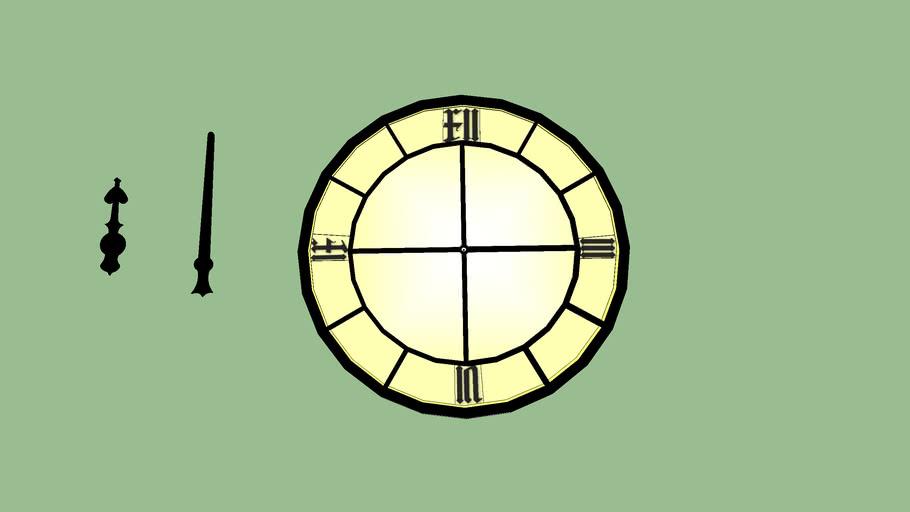 Tower Clock Pieaces