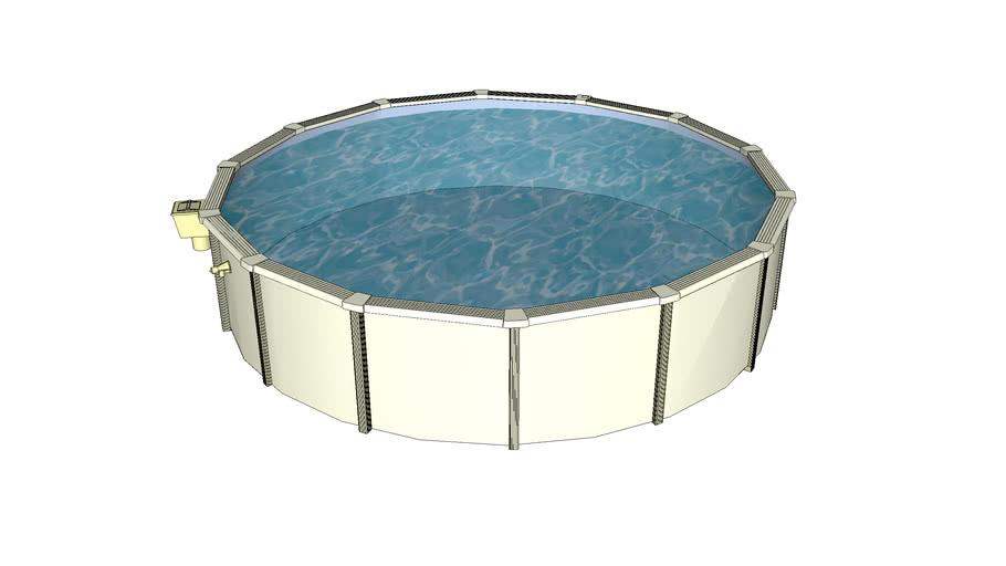 18' Round Aboveground Pool