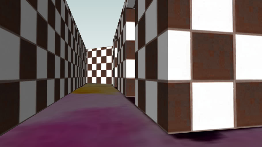 Color Maze - Sketchup 6.