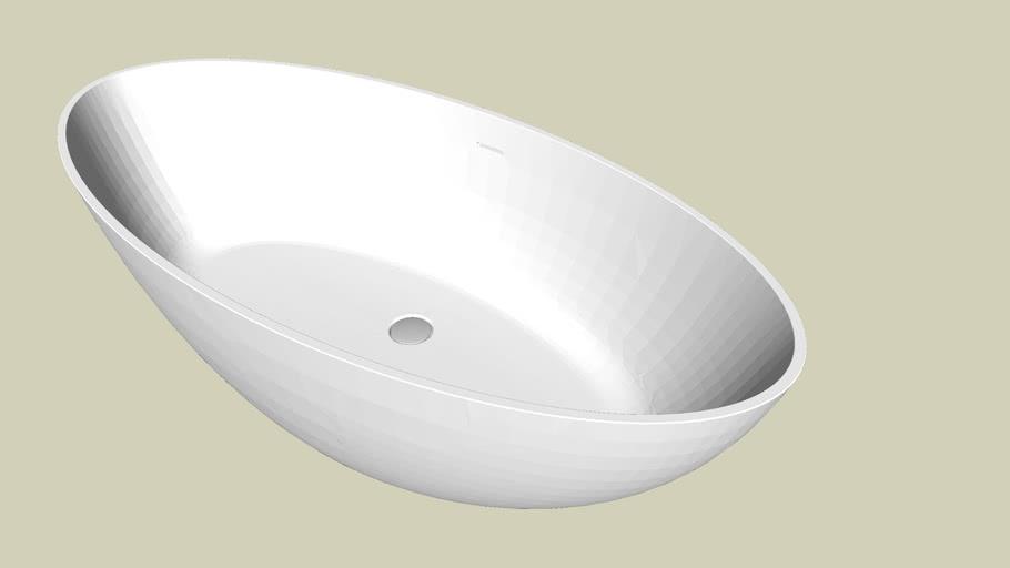 Waters Baths - Ellipse Freestanding Bath - 1760mm
