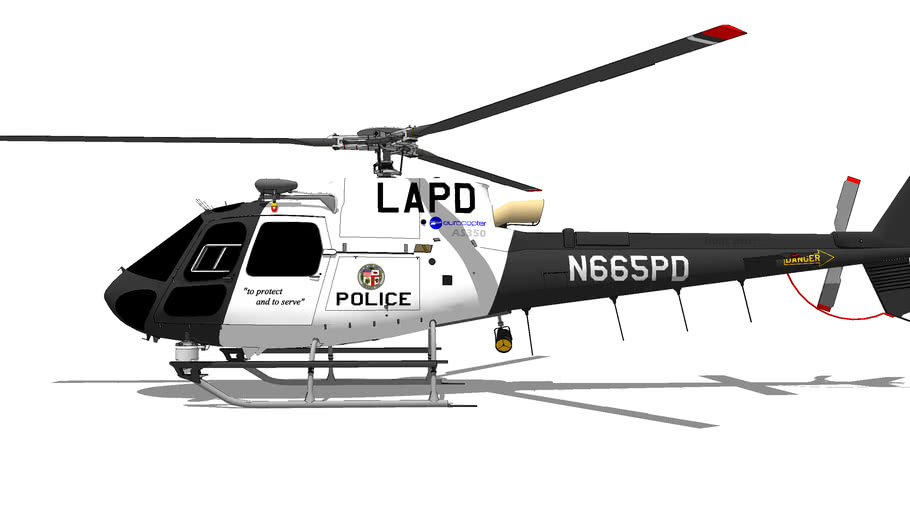 "Eurocopter AS-350 ""Ecureuil"" LAPD"