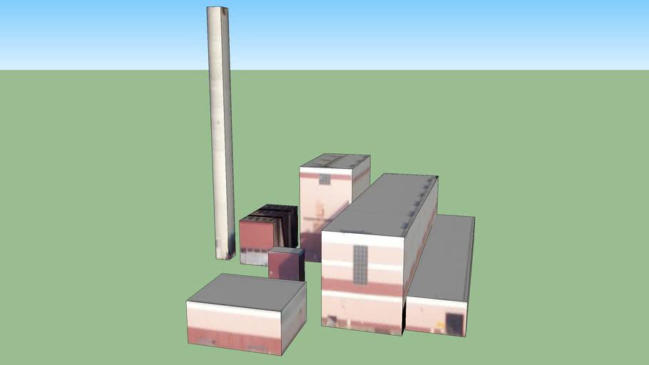 Power Plant in Camden, NJ, USA