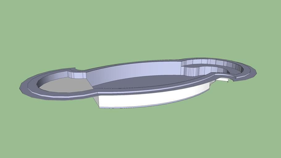 piscina show- piscina glasterm s900