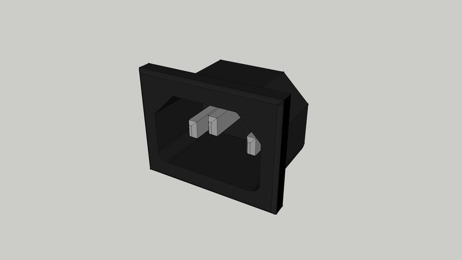 IEC C14 Computer Socket