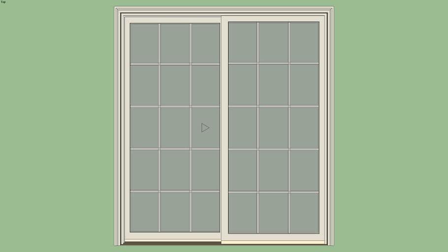Marvin Essential Sliding Patio Door 2, Patio Panels Sliding Doors