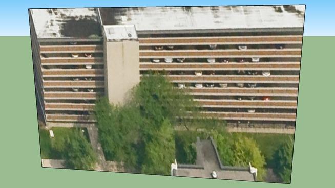 디트로이트, 미시간 주, 미국의 건물