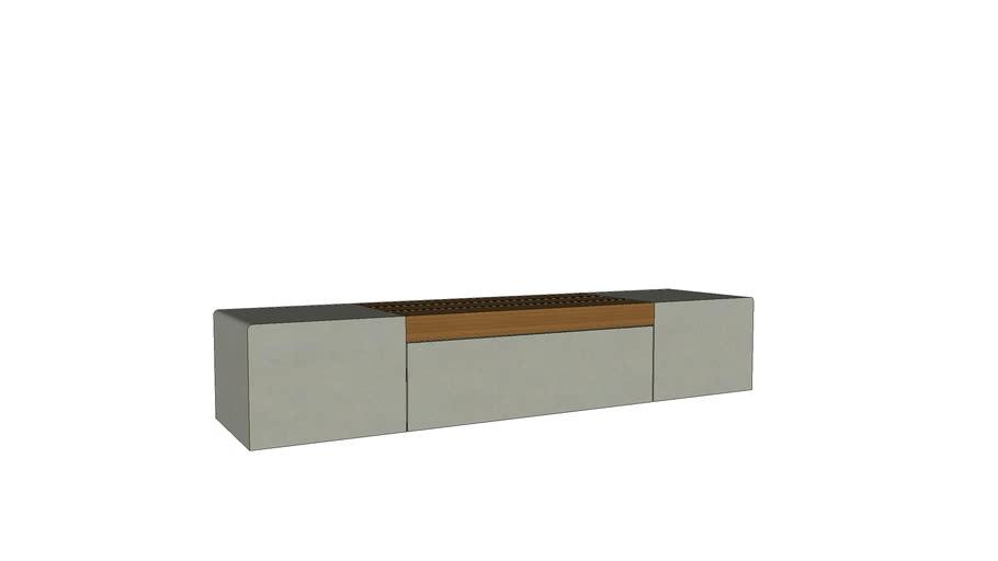 Marshalls Metrolina Modular Concrete Seating